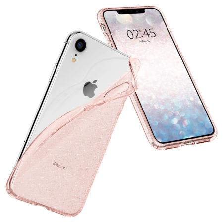 Чехол бампер Spigen Case Liquid Crystal Glitter
